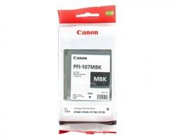 Canon PFI107MBK Cartuccia inkjet nero opaco originale (6704B001AA)