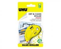 Uhu D1672 Colla roller permanente usa e getta, inodore 6.5mm x 8.5m - 1pz