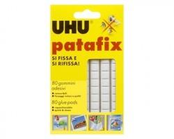 Uhu D1620 Patafix bianco 80 gommine adesive rimovibili, riutilizzabili - 1pz