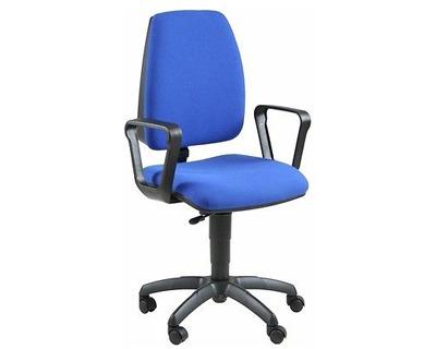 Unisit jupiter jubr blu sedia operativa girevole con ruote colore