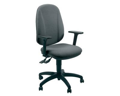 Unisit giano gigi black sedia operativa girevole con ruote