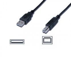 Cavo USB 2.0 A - B 1.8mt, nero