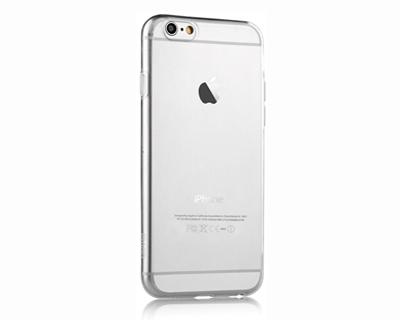 Devia Cover in TPU morbido super slim per iPhone 6/ 6S trasparente