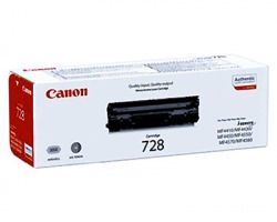 Canon CRG728 Toner nero originale 2.100 copie (3500B002AA)