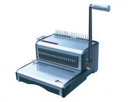 RIMAN 50 Rilegatrice/ Perforatrice per dorsi plastici a 2 leve manuale, capacità di perforazione 25ff da 80gr
