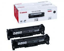 Canon 718 Kit 1x2 Toner nero originale 3.400 copie (2662B005)