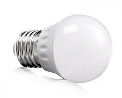 Lampadina LED formato sfera opaca 5.5W 480lm 6500K E14