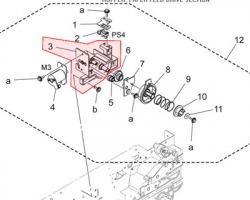 Konica Minolta A1UD218601 Holder originale