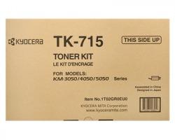 Kyocera TK715 Toner nero originale (0T2GR0EU)