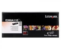 Lexmark E260A11E Toner nero return program