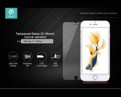 Devia® Pellicola in vetro temperato, 9H 0.26 mm per iPhone 7Plus, ultrasottile e perfetta protezione