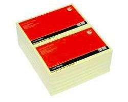 5 Star Blocco foglietti riposizionabili giallo 76 x 127mm - conf. 12pz