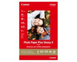 Canon PP201 Carta fotografica Pluss Glossy II A4 275gr/mq, conf. da 20ff (2311B019)