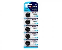 PKcell Pile al litio CR2016 3V blister da 5pz