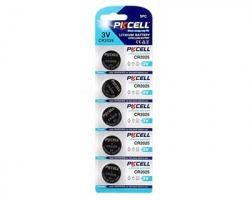 PKcell Pile al litio CR2025 3V blister da 5pz