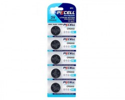 Batteria al Litio 3V CR2032 20x3.2mm blister da 5pz
