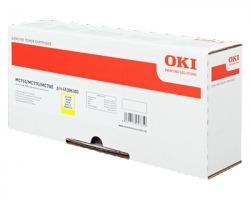 Oki 45396301 Toner giallo originale