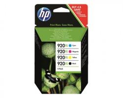 HP C2N92A Pack inkjet nero + 3 colori orginale (920XL)