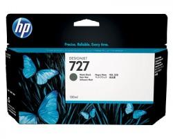 HP B3P22A Cartuccia inkjet nero opaco originale (727)