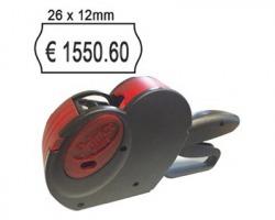 Smart 8 Prezzatrice a 1linea da 8 caratteri, formato etichette 26x12mm - 1pz