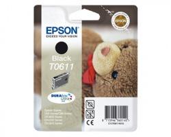 Epson T0611 Cartuccia inkjet nero originale (C13T06114020)