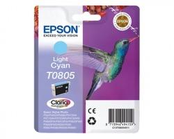 Epson T0805 Cartuccia inkjet ciano chiaro originale (C13T08054020)
