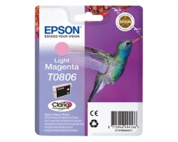 Epson T0806 Cartuccia inkjet magenta chiaro originale (C13T08064020)