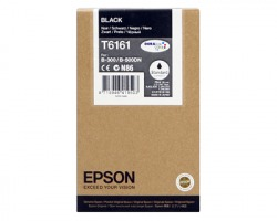 Epson T6161 Cartuccia inkjet nero Durabrite Ultra originale (C13T616100)
