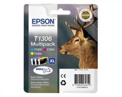 Epson T1306 Multipack inkjet 3 colori originale (C13T13064020)