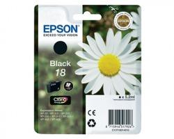 Epson 18 Cartuccia inkjet nero originale (C13T18014010)