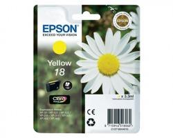 Epson 18 Cartuccia inkjet giallo originale (C13T18044010)