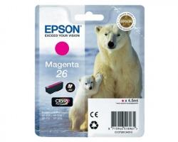 Epson 26 Cartuccia inkjet magenta originale (C13T26134010)