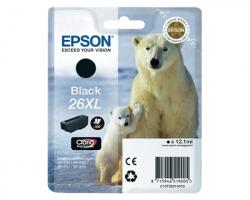 Epson 26XL Cartuccia inkjet nero originale alta capacità (C13T26214010)