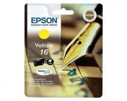 Epson 16 Cartuccia inkjet giallo originale (C13T16244010)