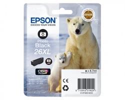 Epson 26XL Cartuccia inkjet nero photo originale alta capacità (C13T26314010)