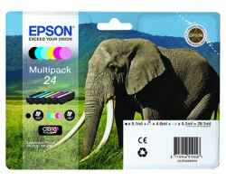 Epson 24 Multipack cartucce inkjet originali 6 colori originale (C13T24284010)