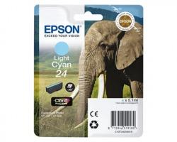 Epson 24 Cartuccia inkjet ciano chiaro originale (C13T24254010)