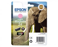 Epson 24 Cartuccia inkjet magenta chiaro originale (C13T24264010)