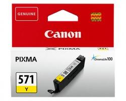 Canon CLI571Y Cartuccia inkjet giallo originale (0388C001)
