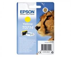 Epson T0714 Cartuccia inkjet giallo originale (C13T07144020)