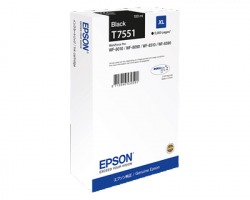 Epson T7551 Cartuccia inkjet nero originale XL (C13T755140)