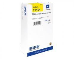 Epson T7554 Cartuccia inkjet giallo originale XL (C13T755440)