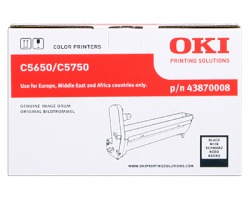 Oki 43870008 Drum nero orginale