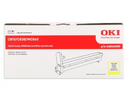 Oki 44064009 Drum giallo originale