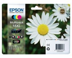 Epson 18XL Multipack inkjet nero + 3 colori originale alta capacità (C13T18164010)