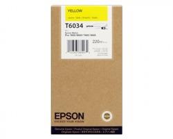 Epson T6034 Cartuccia inkjet giallo originale alta capacità (C13T60340)