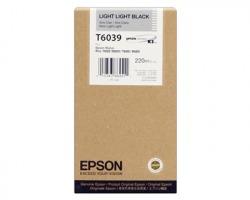 Epson T6039 Cartuccia inkjet nero chiaro chiaro originale alta capacità (C13T603900)