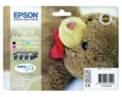 Epson T0615 Multipack inkjet quadricomia originale (C13T06154020)