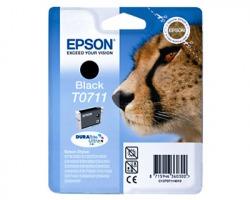 Epson T0711 Cartuccia inkjet nero originale (C13T07114020)