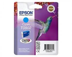 Epson T0802 Cartuccia inkjet ciano originale (C13T08024020)